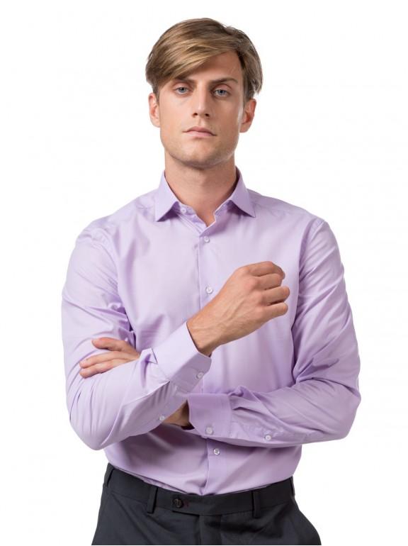 Shirt dress smooth