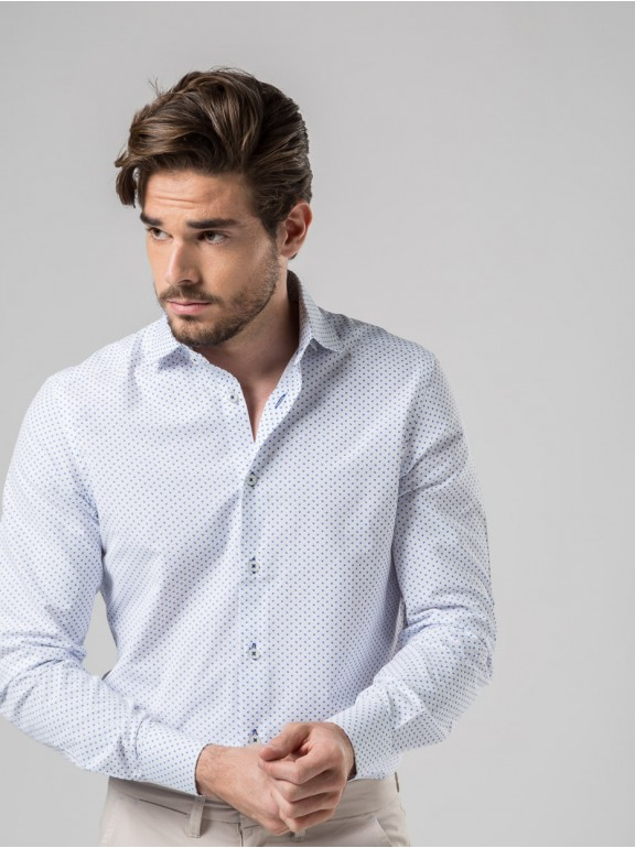 Camisa Microdibujo
