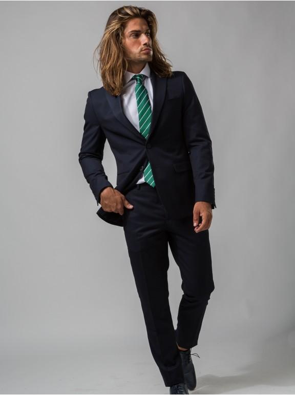 Blazer Plain Fake Suit