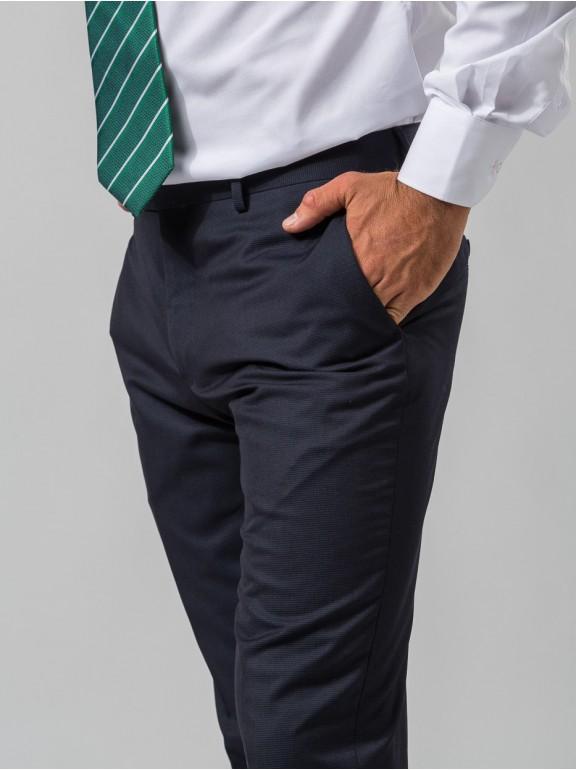 Pants Fake Smooth Suit