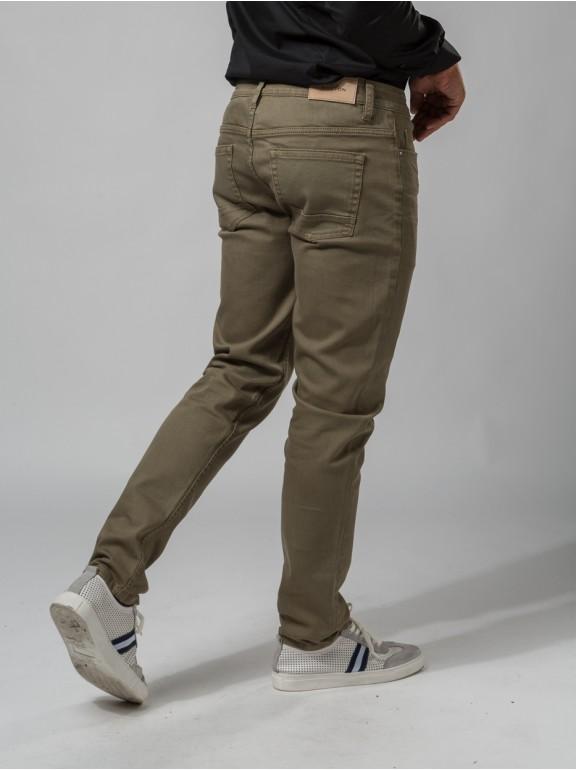 Jeans couleur slim fit