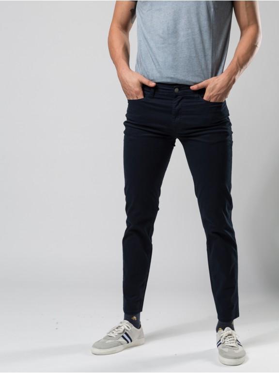Pantalon slim fit 5 bolsos