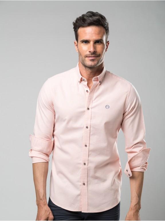 Algodon stretch oxford shirt