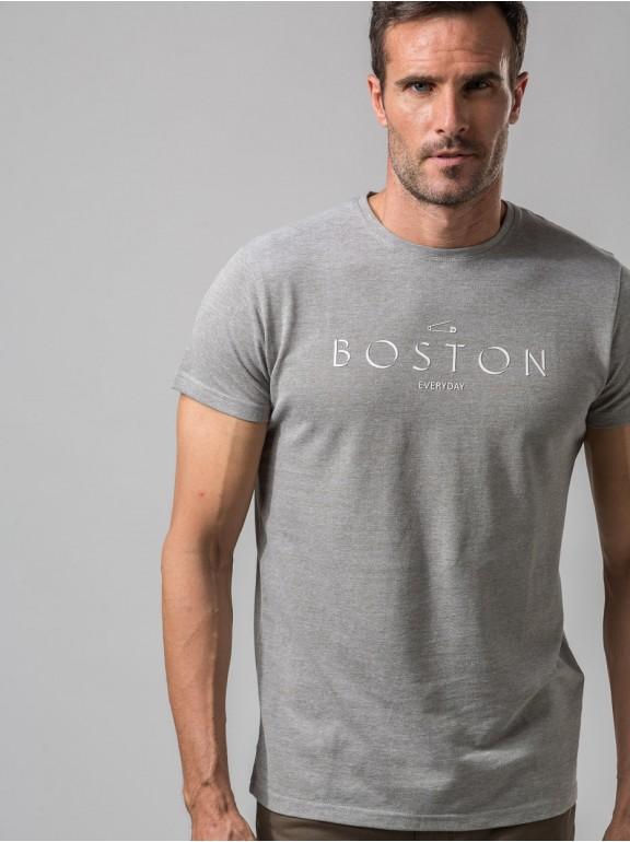 Camiseta Piqué Boston