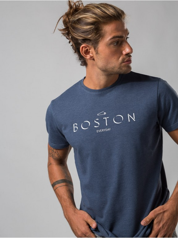 Piqué Boston T-Shirt
