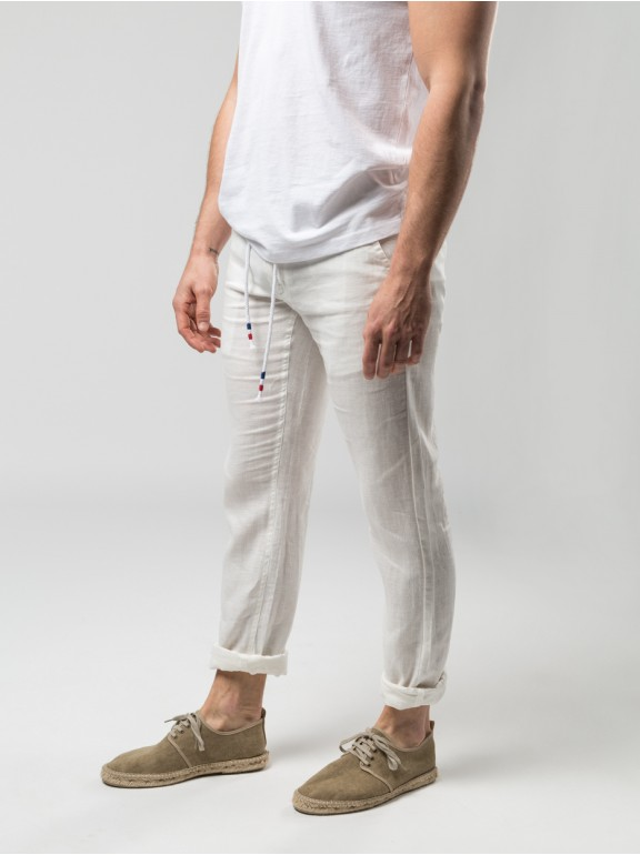 Chinese linen trousers 100%