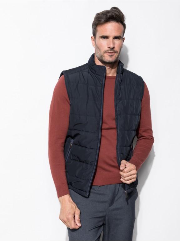 Smooth vest zipper closure
